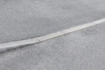 How to install a dropped kerb in Barford