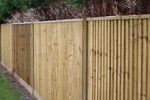 Timber Tanalised Fencing Fitters Highbury